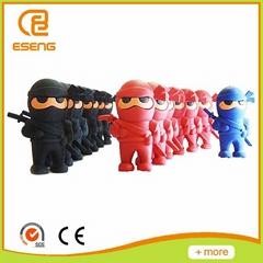 3D toys shaped wooden eraser