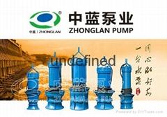 井筒式軸流泵/臥式軸流泵/雪橇式軸流泵/斜拉式軸流泵