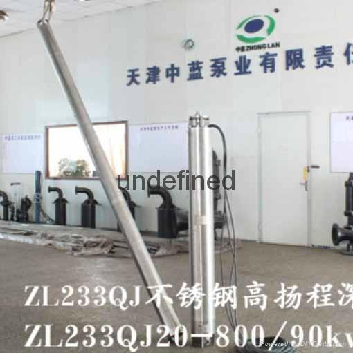 高扬程温泉热水井用潜水泵品牌 3