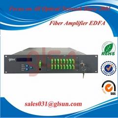 桂林光隆 GLSUN 机架式EDFA 掺饵光纤放大器 光放大器