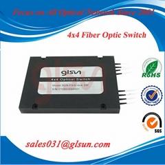 桂林光隆 GLSUN 4x4級聯光開關 光開關模塊 機械光開關