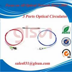 桂林光隆GLSUN 玻璃套管式 鋼管式 三端口偏振無關環形器