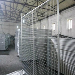 China factory customized steel galvanized temporary fence