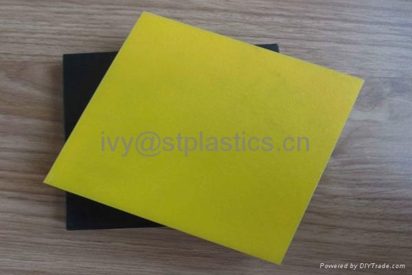 Factory direct sale colorful High density polyethylene board 2