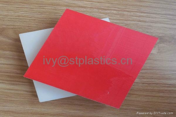 Factory direct sale colorful High density polyethylene board 4