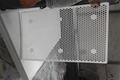 pe plastic mesh sheet/perforated uhmw