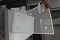 pe plastic mesh sheet/perforated uhmw mesh parts /tank filter 2