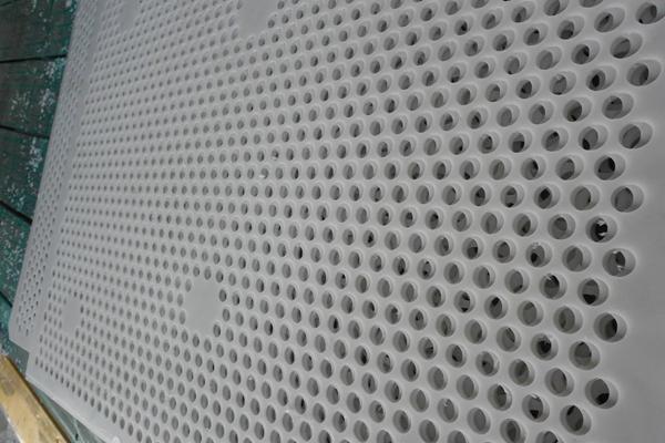 pe plastic mesh sheet/perforated uhmw mesh parts /tank filter 4