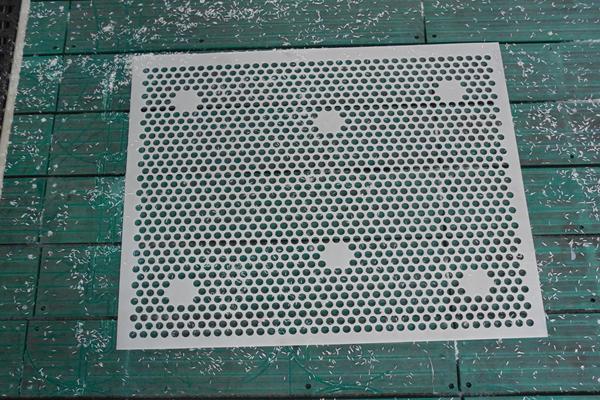 pe plastic mesh sheet/perforated uhmw mesh parts /tank filter 5