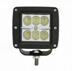 3inch 18w 6led cube pods in IP68 for 12v/24v cars offroad utv atv