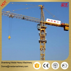small fixed jib crane 4 tons tower crane machine for sale