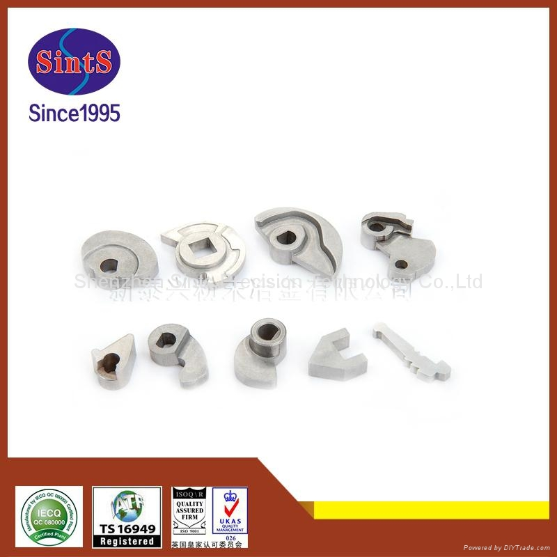 Metal injection molding door lock accessories made by Sints company 5