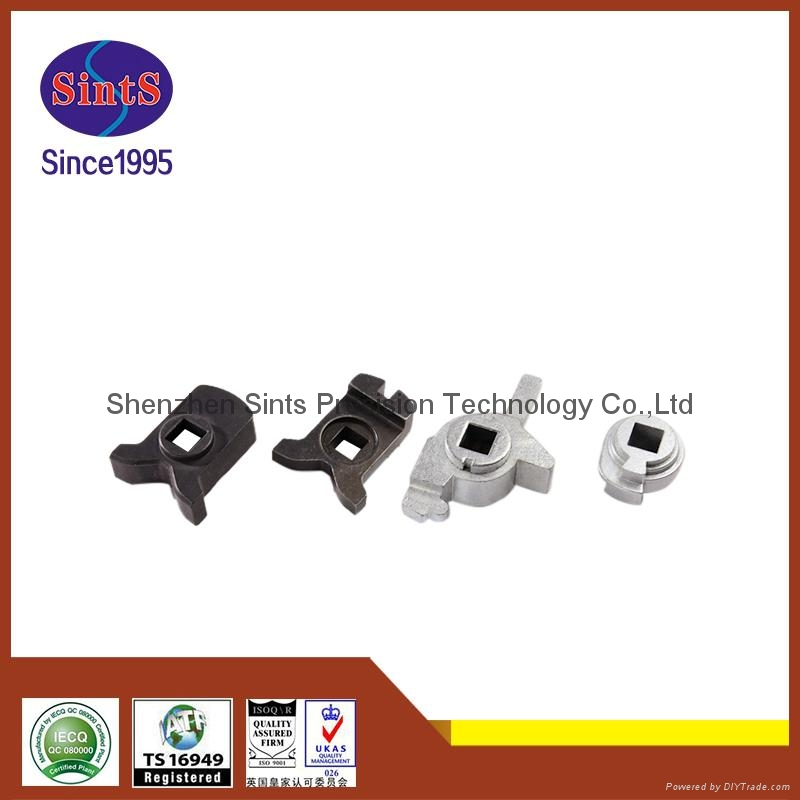 High precision metal injection molding lock rotating parts 3