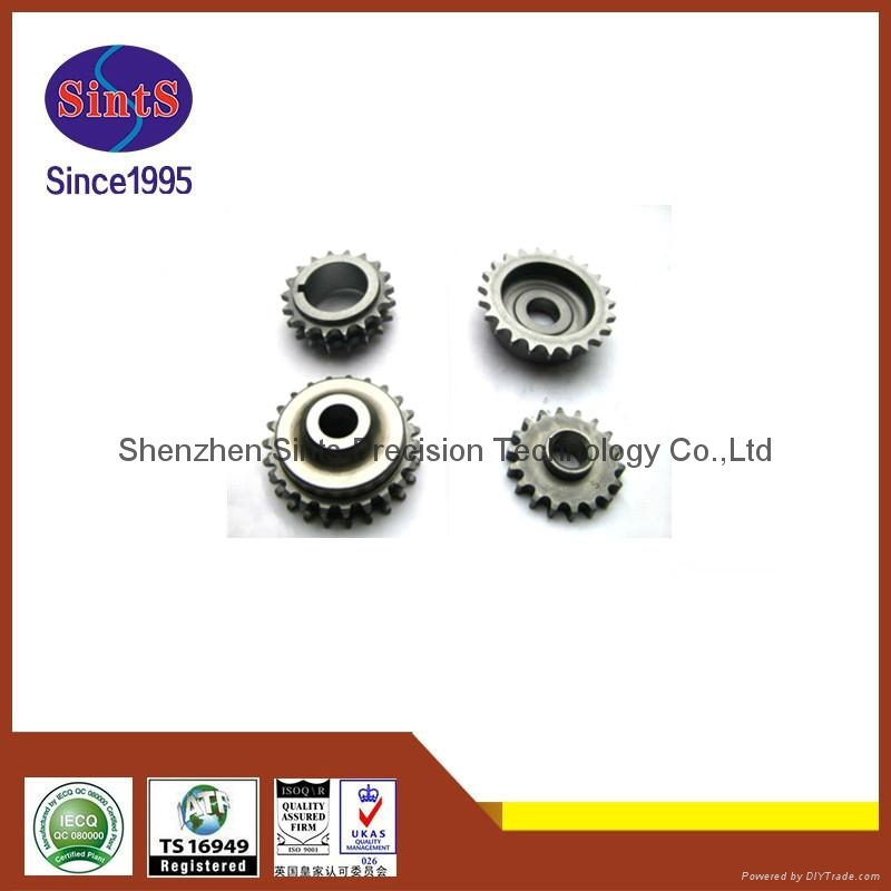 OEM powder metallurgy sintering automotive belt pulley  2