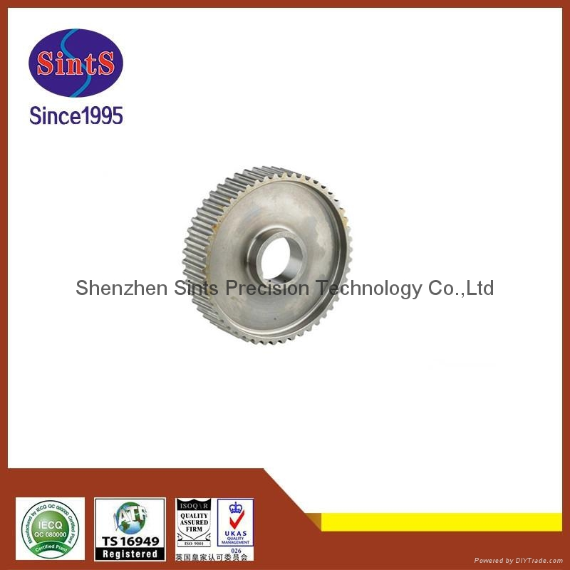 OEM powder metallurgy sintering automotive belt pulley  3