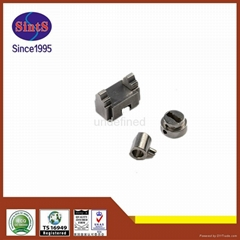 Custom-made high precision metal lock parts from China MIM manufacturer