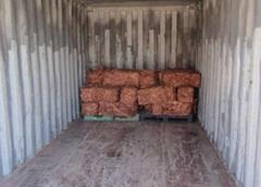 廢銅類工業品的貨櫃監裝
