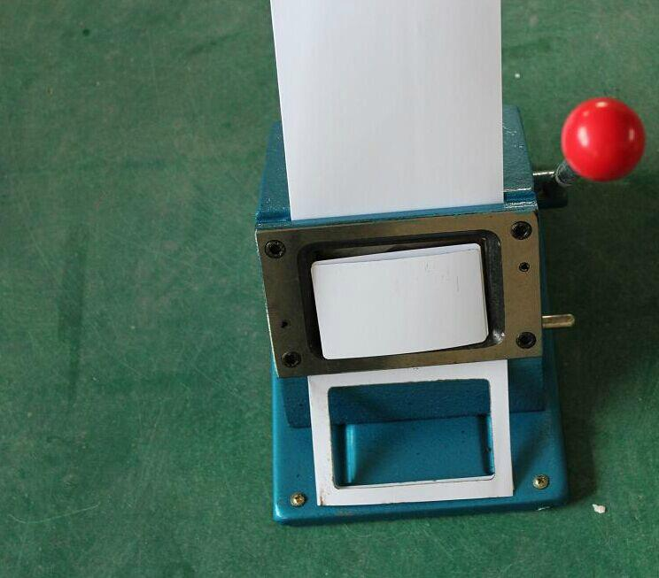PVC card cutter any size and any shape could be customersized 1