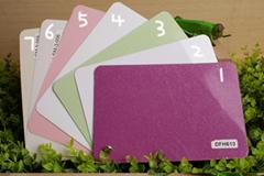 Enosh PVC film interior membrane colour atla color card