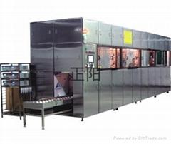Glass automatic ultrasonic cleaning machine