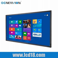 82 inch super Wide Digital Signage Video electronic advertising led screen multi