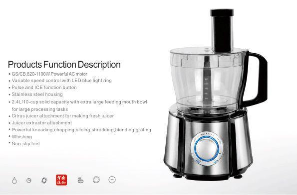 12 in 1 Multifunction food processor 2