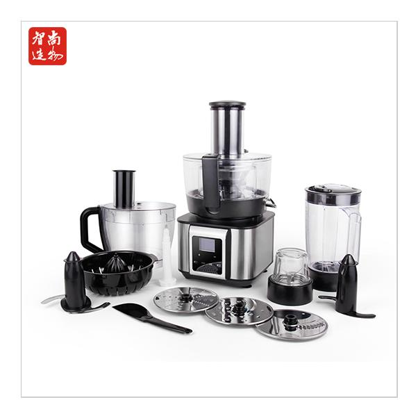 New touch panel food processor 1100W high power mixer 2