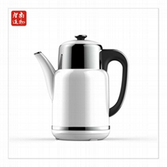 Double Wall stainless steel Tea Maker durable tea pot tea kettle with infuser