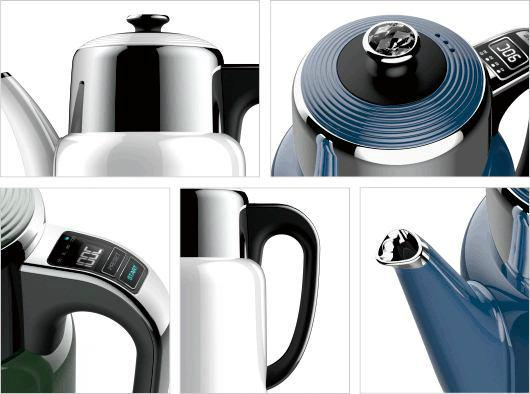 Double Wall stainless steel Tea Maker durable tea pot tea kettle with infuser 2