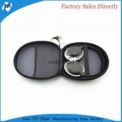 Hard protective travel storage carrying Headphone Case