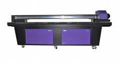 UV flatbed printer with high precision