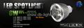 6W dimmable led spotlight GU10 MR16 E27 E14