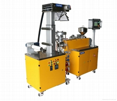 lab precise blowing film machine