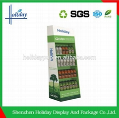Economy mineral water bottle soft drink display rack stand