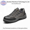 cheap safety shoes leather work shoes men anti squashy safety shoes 2