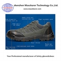 cheap safety shoes leather work shoes men anti squashy safety shoes 3
