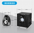 E800 multimedia laptop desktop computer sound wood 2.1 speakers subwoofer