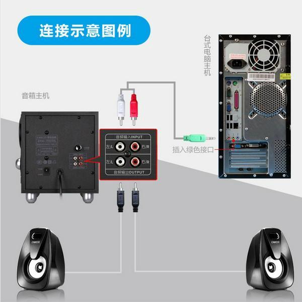 E800多媒體筆記本臺式電腦音響木質2.1音箱低音炮 8