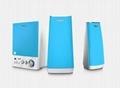 E900B支持蓝牙、U盘和SD卡,2.1音响