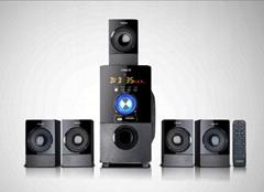 H58系列家庭影院音响系统 全木质箱体,经典工艺