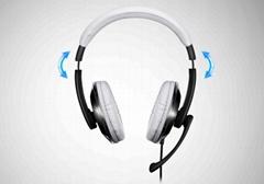 头戴式耳机游戏线控通话