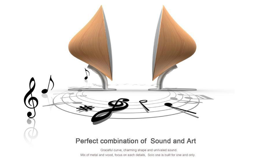 声音与艺术的完美结合,突破声学技术的局限,与流畅一体的至美外观融为一体,采用唯美的铝合金与木纹相结合,每个细节的精雕细琢使它与众不同。