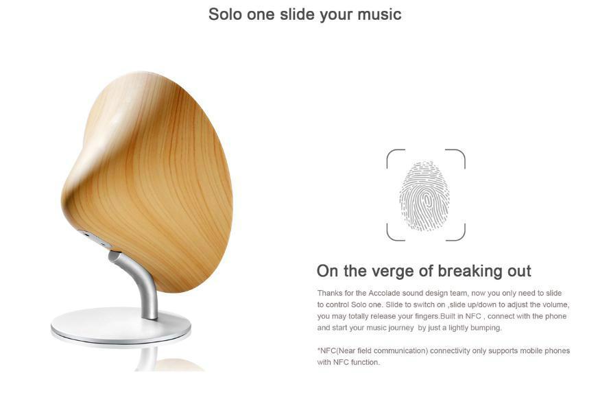 SOLO ONE 創意無線藍牙音箱4.0音響 7