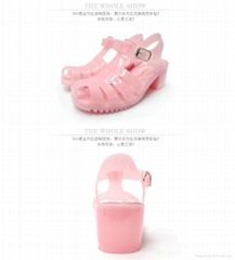 Newest fashion 2016 summer cooling women sandals shoes flats