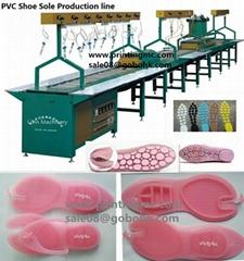 High Capacity PVC Slipper Machine Produciton Line
