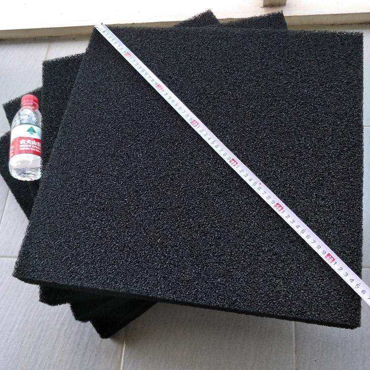 活性炭海棉蜂窩濾網3mm-50mm除異味廢氣吸附活性炭聚氨酯防塵海綿 2