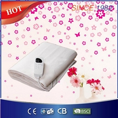 Comfortable Polyester Electric Heated Blanket for Bed Warmer