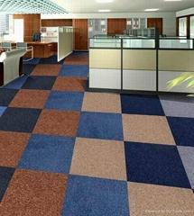 Different types of bathroom mosaic carpet tiles