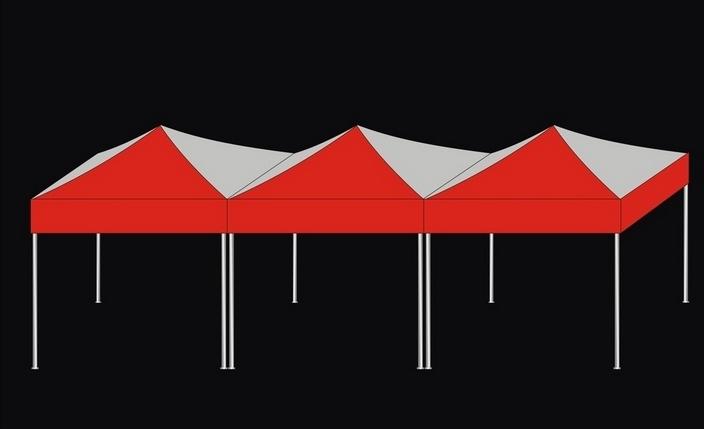 西安帳篷廣告帳篷定製精品雨傘遮陽傘定做 2