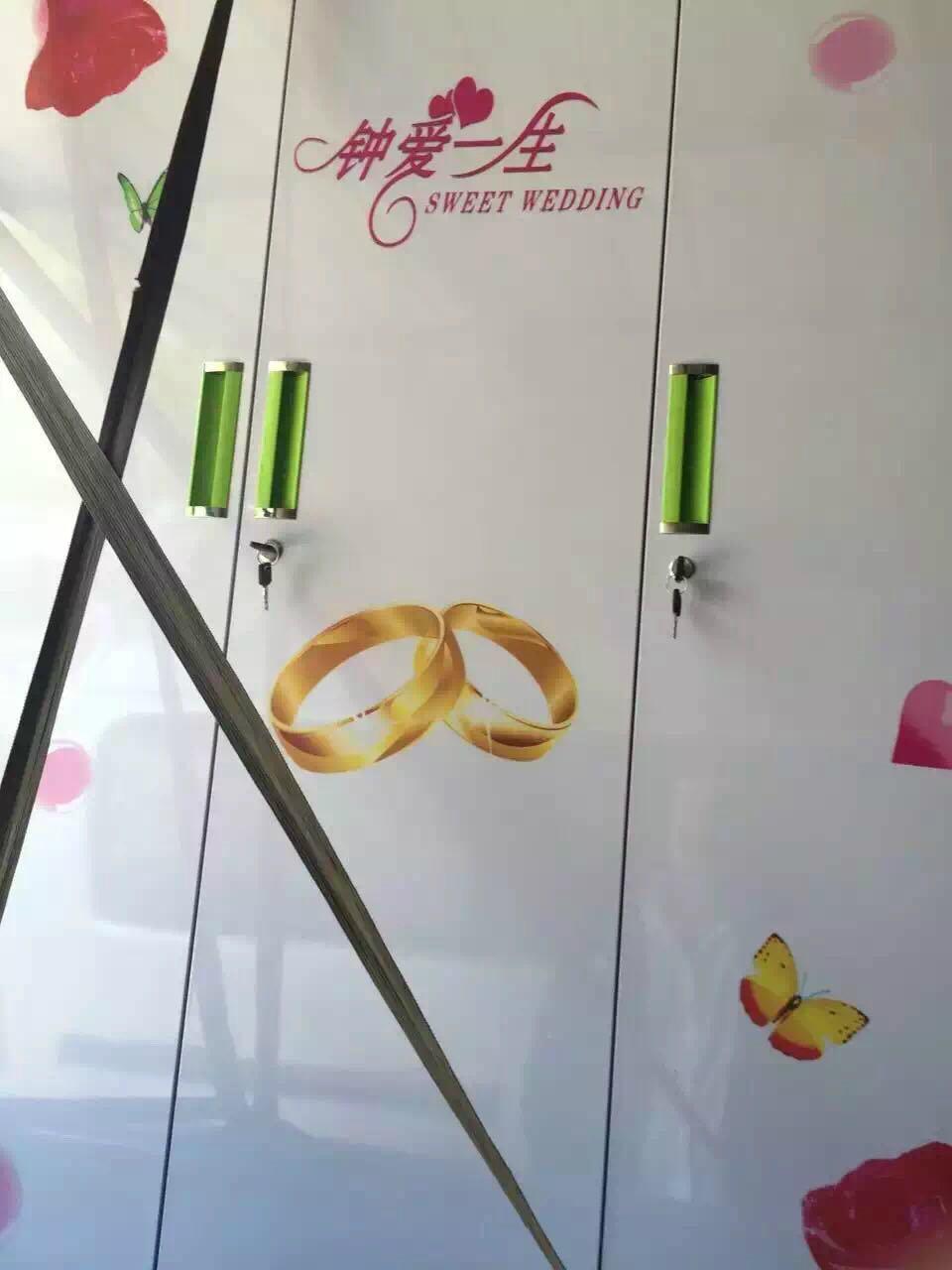 木板板材衣櫥門櫃圖案定製鏡面打印 5